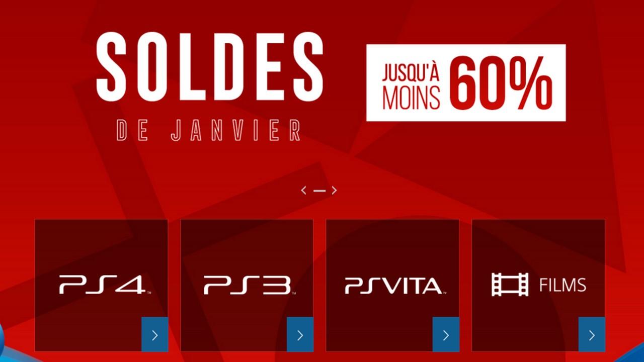 Les soldes de janvier sur le playstation store - Les soldes janvier 2017 ...
